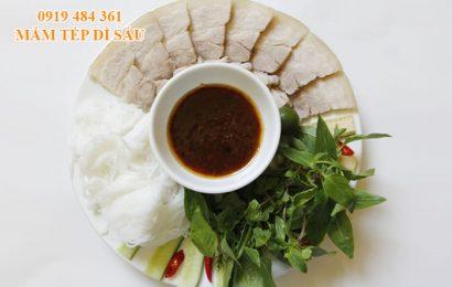 Địa chỉ bán mắm tép ngon tại Hà Nội